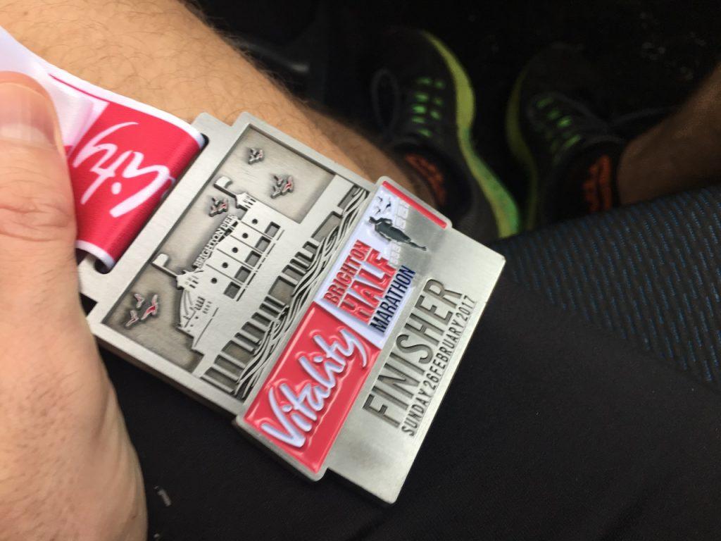 Brighton Half Marathon 2017