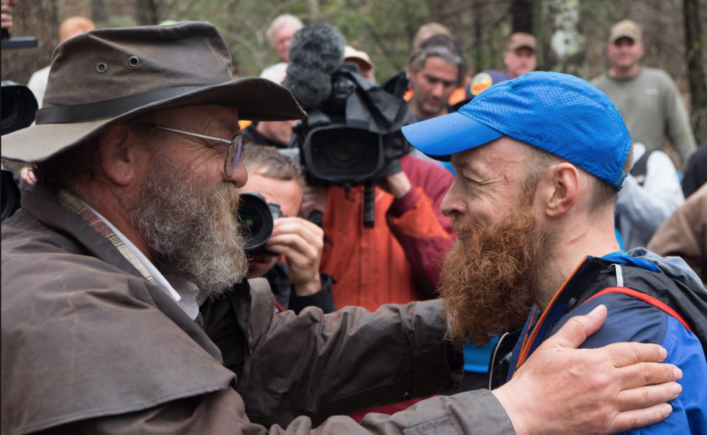 Gary Robbins and Laz at Barkley